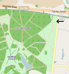 Forest Office Location Map © OpenStreetMap